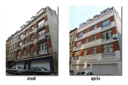 cimentage bandeaux sablage mise en peinture traitement anti graffiti 1000 bruxelles 2013 devis gratuit belgique youka facade