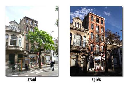 sablage traitement hydrofuge mise en peinture 1030 schaerbeek 2012 devis gratuit belgique youka facade