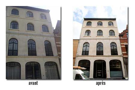 sablage traitement hydrofuge peinture chassis 1200 woluwe saint lambert 2010 devis gratuit belgique youka facade