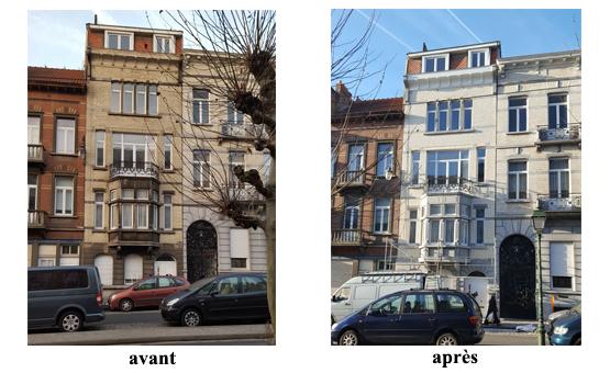 nettoyage haute pression eau chaude sablage pierres bleues 1080 molenbeek 2016 devis gratuit belgique youka facade