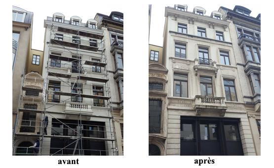 résine pierre de france peinture façade classée 1000 bruxelles 2016 devis gratuit belgique youka facade