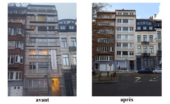 reparation beton sablage traitement hyfrofuge 1040 etterbeek 2017 devis gratuit belgique youka facade