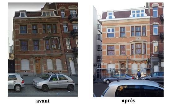 sablage reparation beton et sous toiture 1080 molenbeek 2017 devis gratuit belgique youka facade